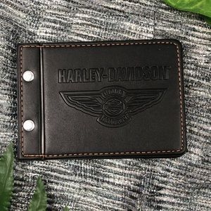 New Harley Davidson The Roadbook Leather Cover